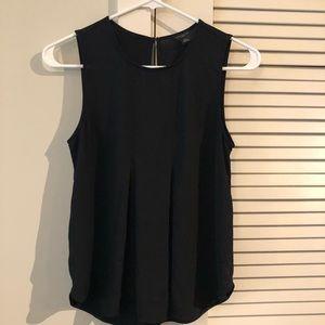 Ann Taylor black sleeveless top!!